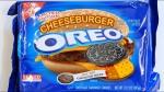 OREO cheeseburger